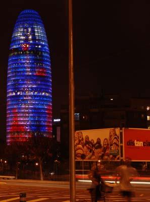 La Torre Agbar de Barcelona