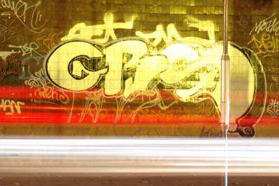 Un graffitti que pasaba por allí...