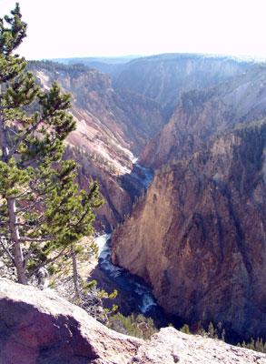 El cañón del Yellowstone