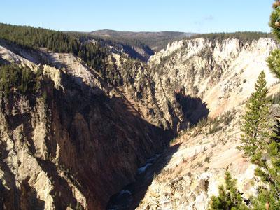 Más cañón del Yellowstone