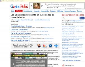 Pantallazo GestioPolis